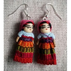Worry doll mother and child