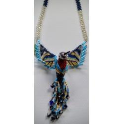 Necklace bead hummingbird large