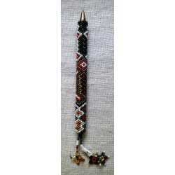 Pen holder bead native american style