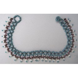Anklet bead volcano