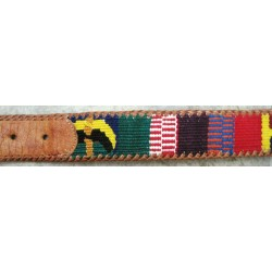 Belt leather cotton traditional