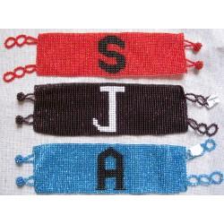Bracelet bead custom letters