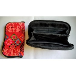 Cosmetic case cotton huipile