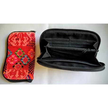 Cosmetic case cotton huipile