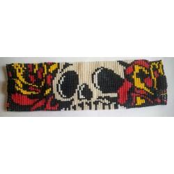 Bracelet Skull Flame