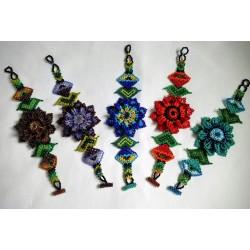 Bracelet bead flower leaf 3D