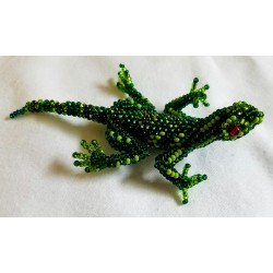 Pin beaded lizard