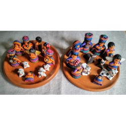 Lanyard bead multicolor