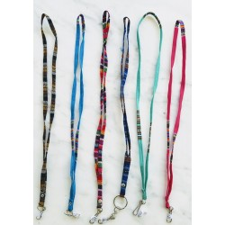 Lanyard cotton multicolor