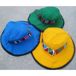 Hat cotton floppy overdye patch