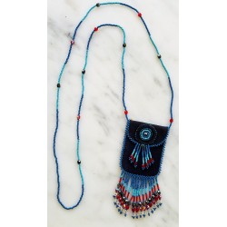 bead leather medicine pouch