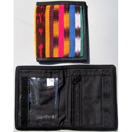 wallet bifold multicolor