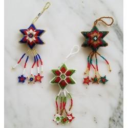 Ornament bead star