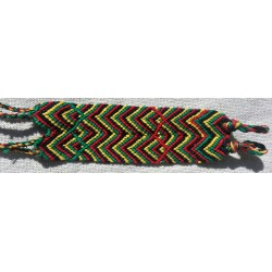 friendship bracelet cotton rasta / reggae