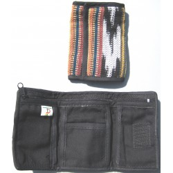 wallet trifold multicolor