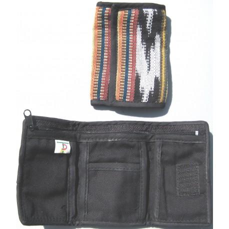 wallet trifold multicolor