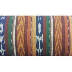 cloth jaspe (ikat) earth