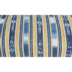 cloth jaspe (ikat) yellow white blue