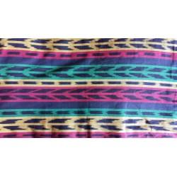 cloth jaspe (ikat) rasta reggae colors