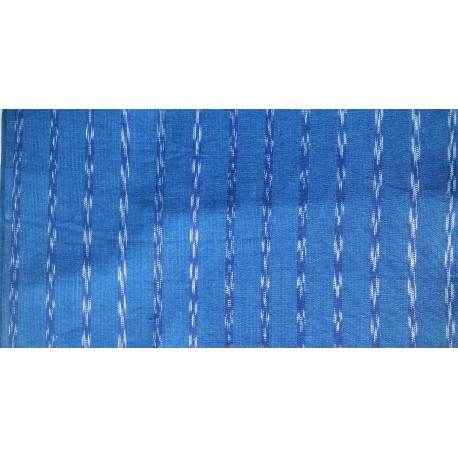 cloth jaspe (ikat) blue and white
