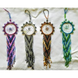 dreamcatcher bead ornament native american style large