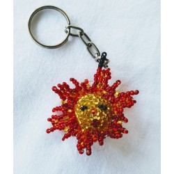 Keychain bead mini sun