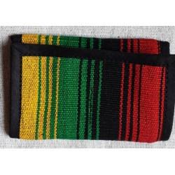 Rasta trifold wallet