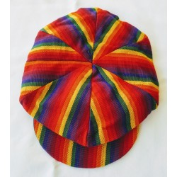 Hat baseball rainbow