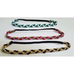 Hairband bead braid