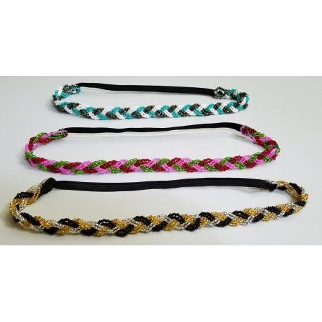 Hairband bead braid