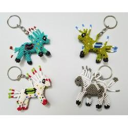 Keychain bead horse