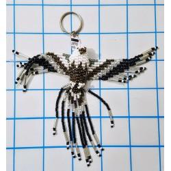 Keychain bead eagle