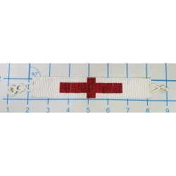 Bracelet bead 16 row English Flag