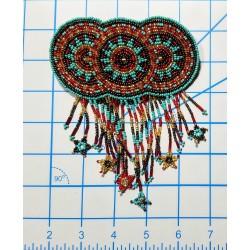 Barrette bead Circles extra large