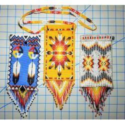bead purse native american style passport