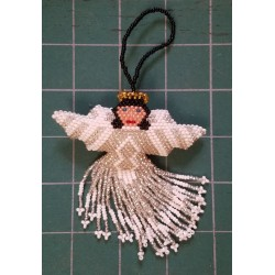 Ornament bead angel large
