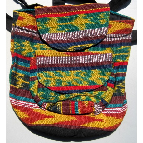 Backpack small multicolor