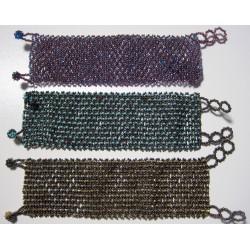 Bracelet bead mesh wide