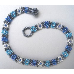 Anklet bead daisy chain