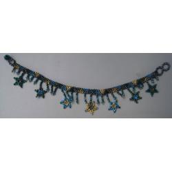 Anklet bead stars