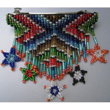 Barrette bead stars