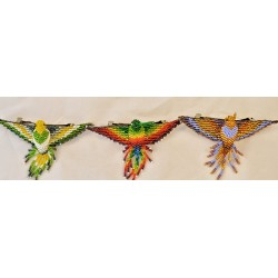 Barrette bead hummingbird