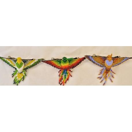 Barrette bead hummingbird