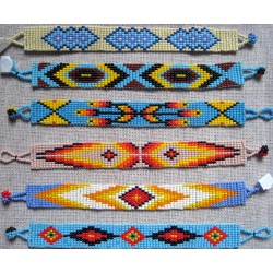 bracelet bead native american style 11 row