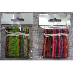 "Worry Dolls bag of six in plastic bag - 1/4"" for certain mail regs"