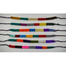 friendship bracelet cotton block