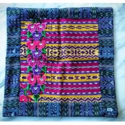 Pillow cover cotton huipile