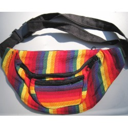 Fanny pack cotton rainbow