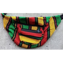 Fanny pack cotton rasta