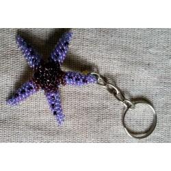 Keychain bead starfish